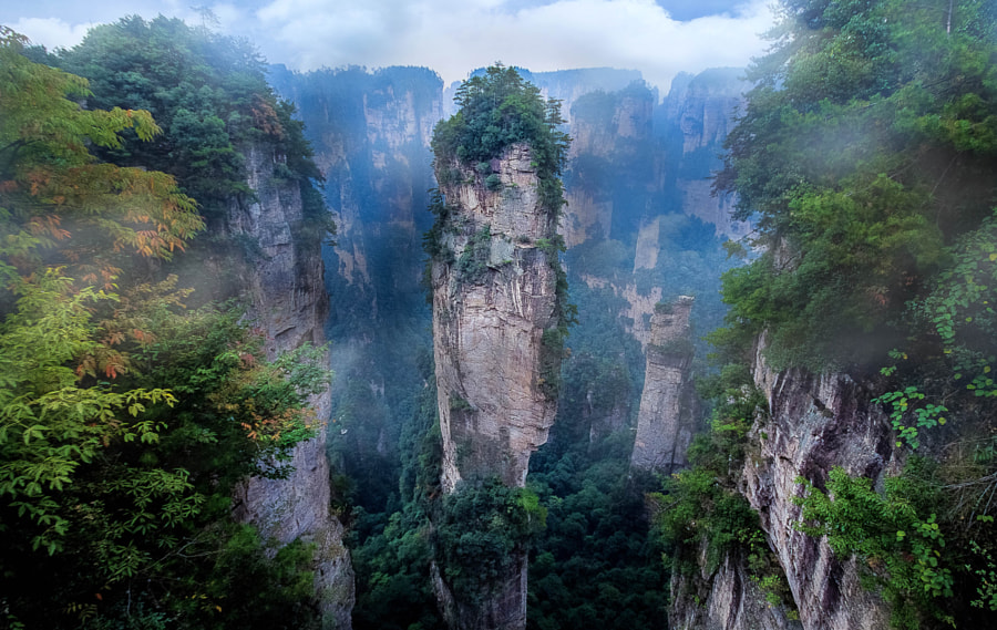 zhangjiajie national forest park by KitchaKron sonnoy on 500px.com