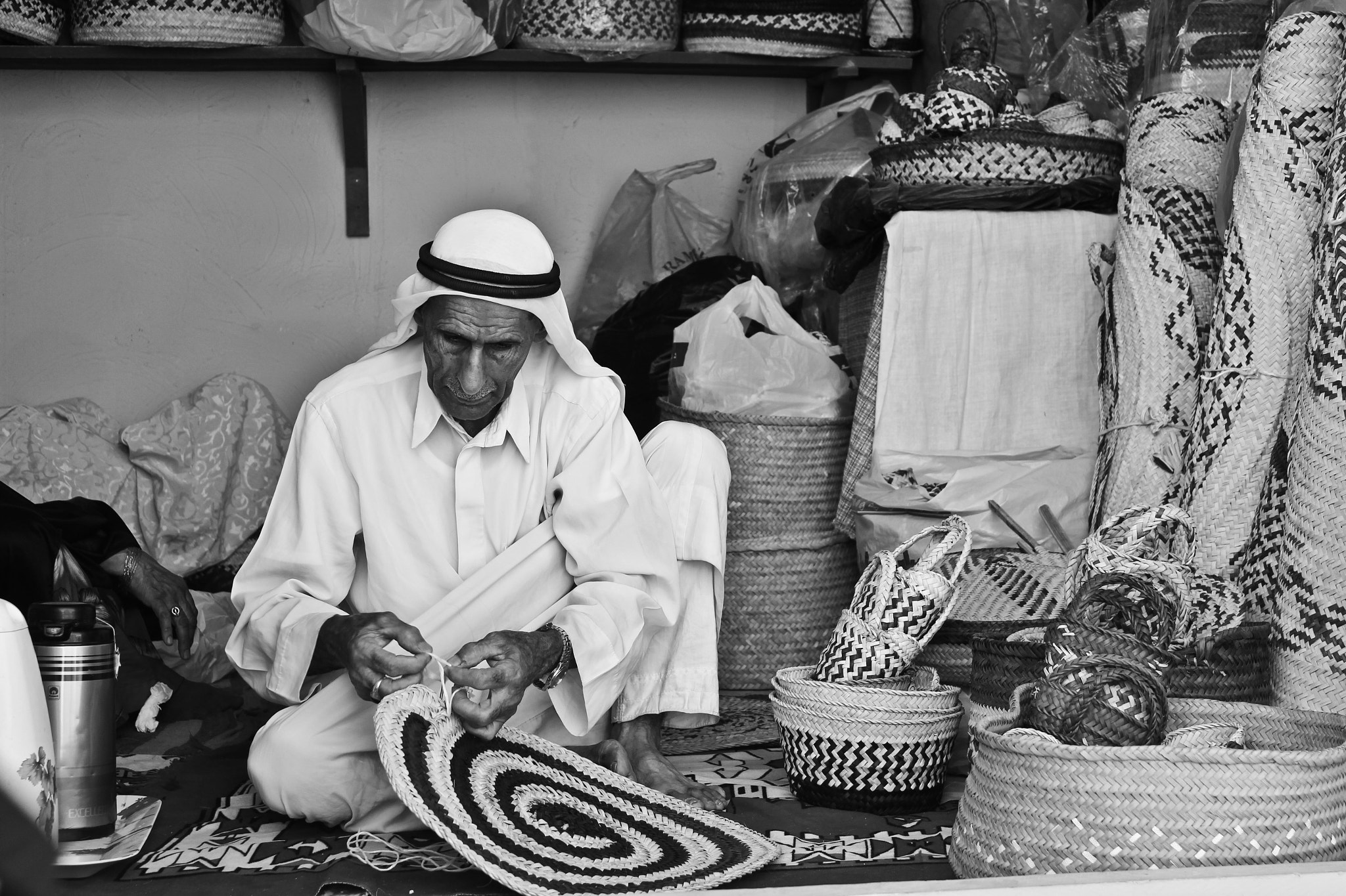 Photograph traditional  man  by Abdullah Yousif Almerbatti on 500px