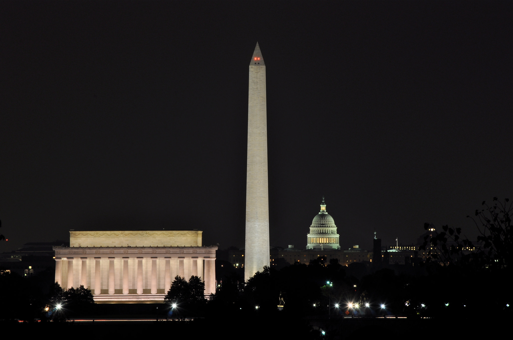 Photograph Washington DC at Night by Jimmy Daly on 500px