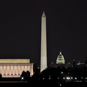 Washington DC at Night by Jimmy Daly (jimmydaly)) on 500px.com