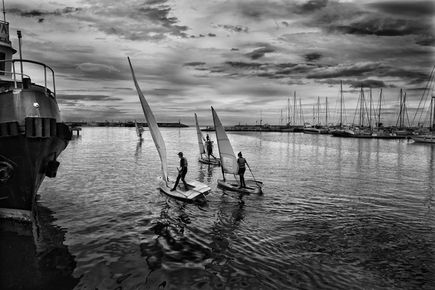 Photograph Ready to Sail by mario pignotti on 500px