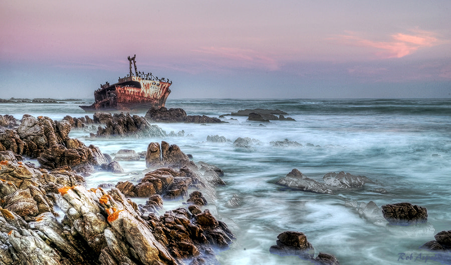 Photograph Shipwreck by Robbie Aspeling on 500px