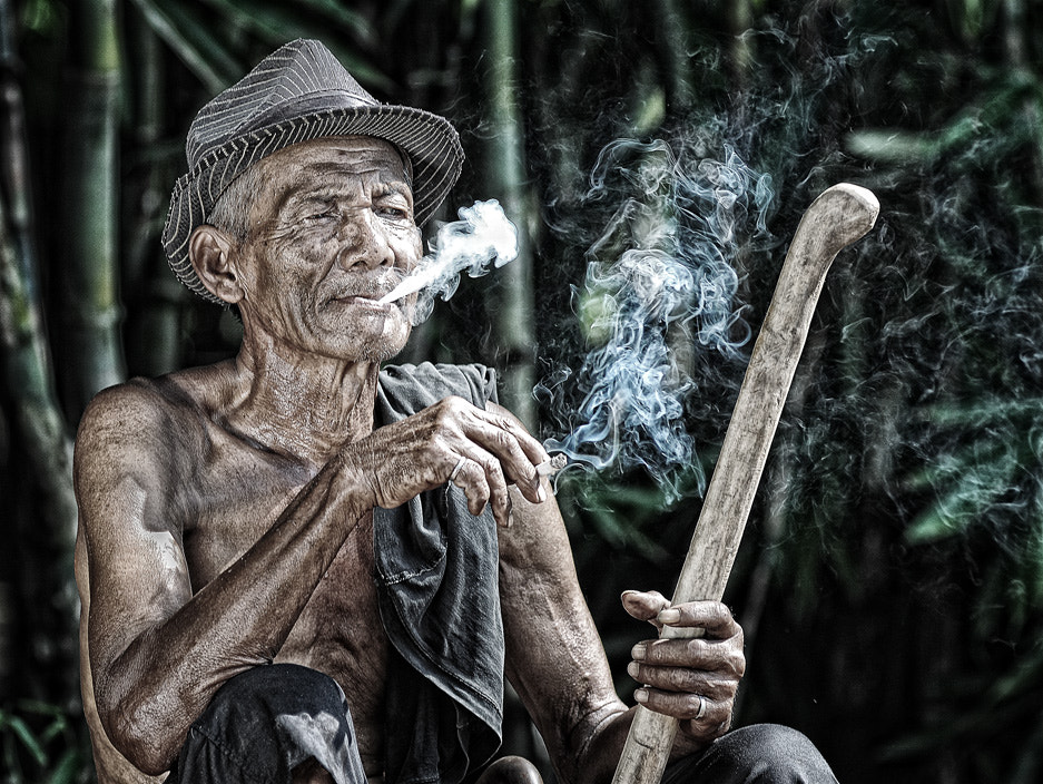 Photograph The Smoker by Anton Wibowo on 500px
