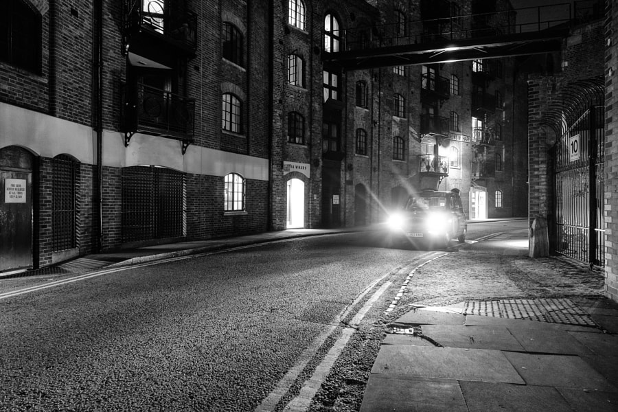 Late Night Cabbie, Java Wharf London