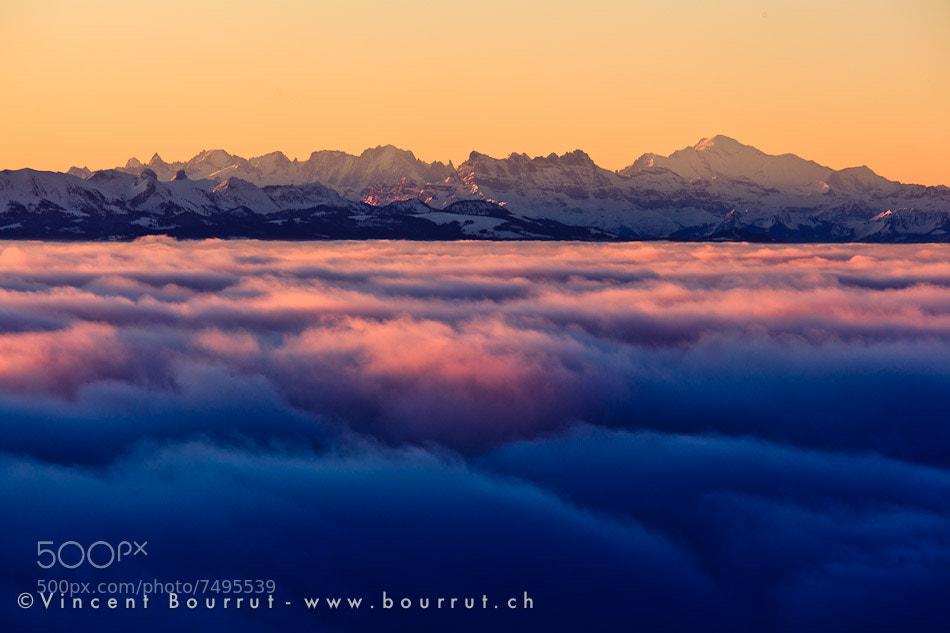 Photograph Les Alpes by Vincent BOURRUT on 500px