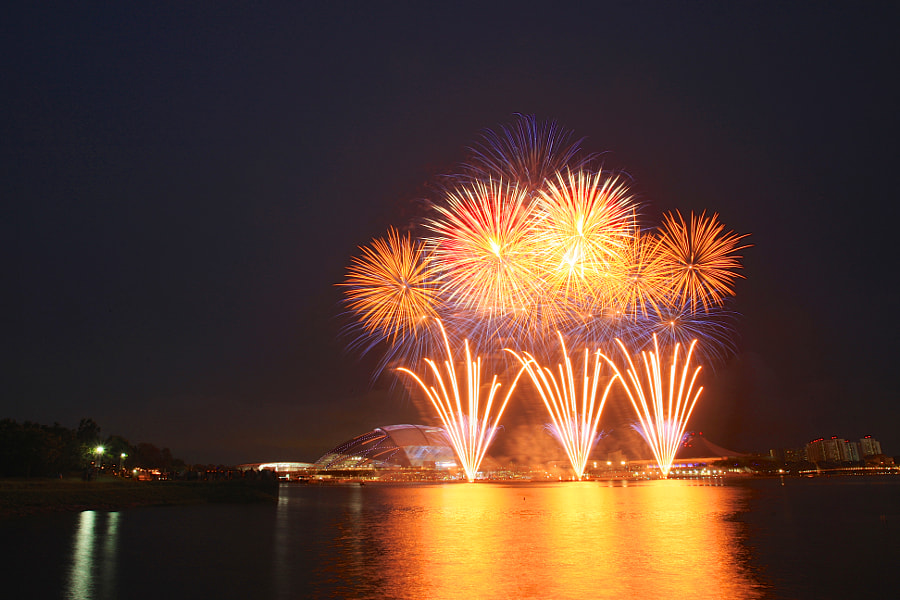 SEA Games 2015 One Year Countdown Fireworks