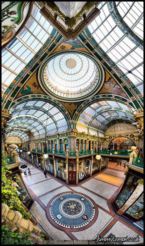 Photograph Victoria Quarter, Leeds - 180 Degree Vertical Panorama by Tom Holmes on 500px
