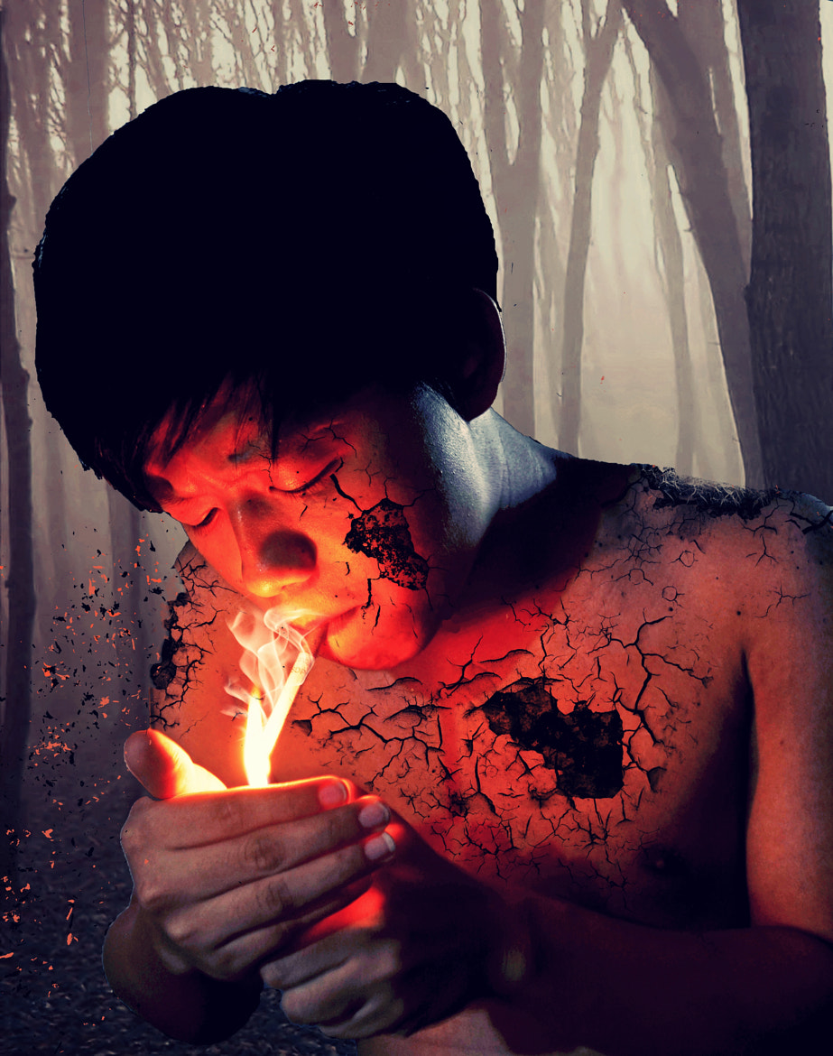Photograph Smoking or Decaying ? by Myint Mo Oo on 500px