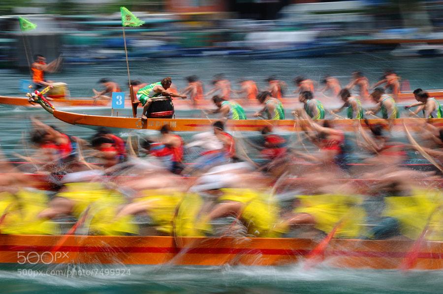 Dragon race by Calvin Li (calvin_li) on 500px.com