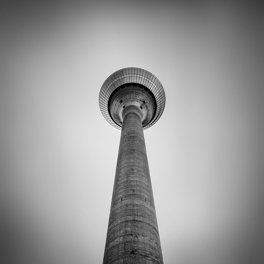 Photograph Rheinturm #perspectve by Geoffrey Gilson on 500px