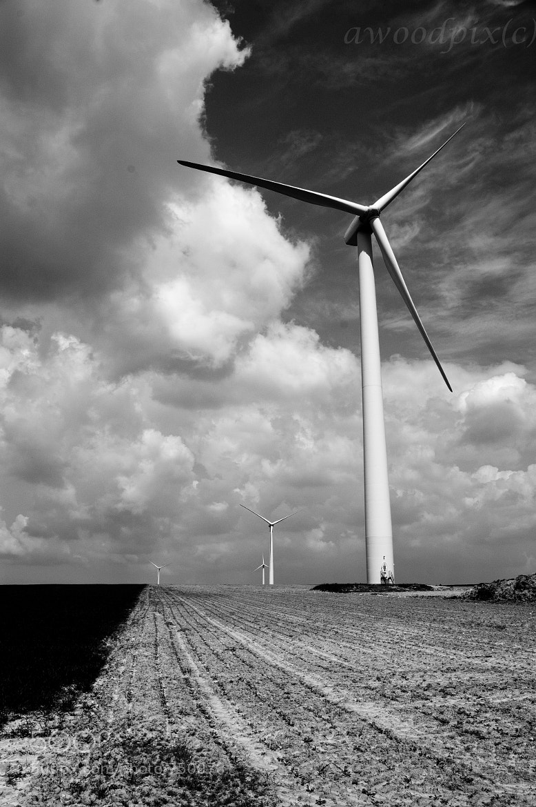 Photograph Turbines in the Distance by Andrew  Wood on 500px