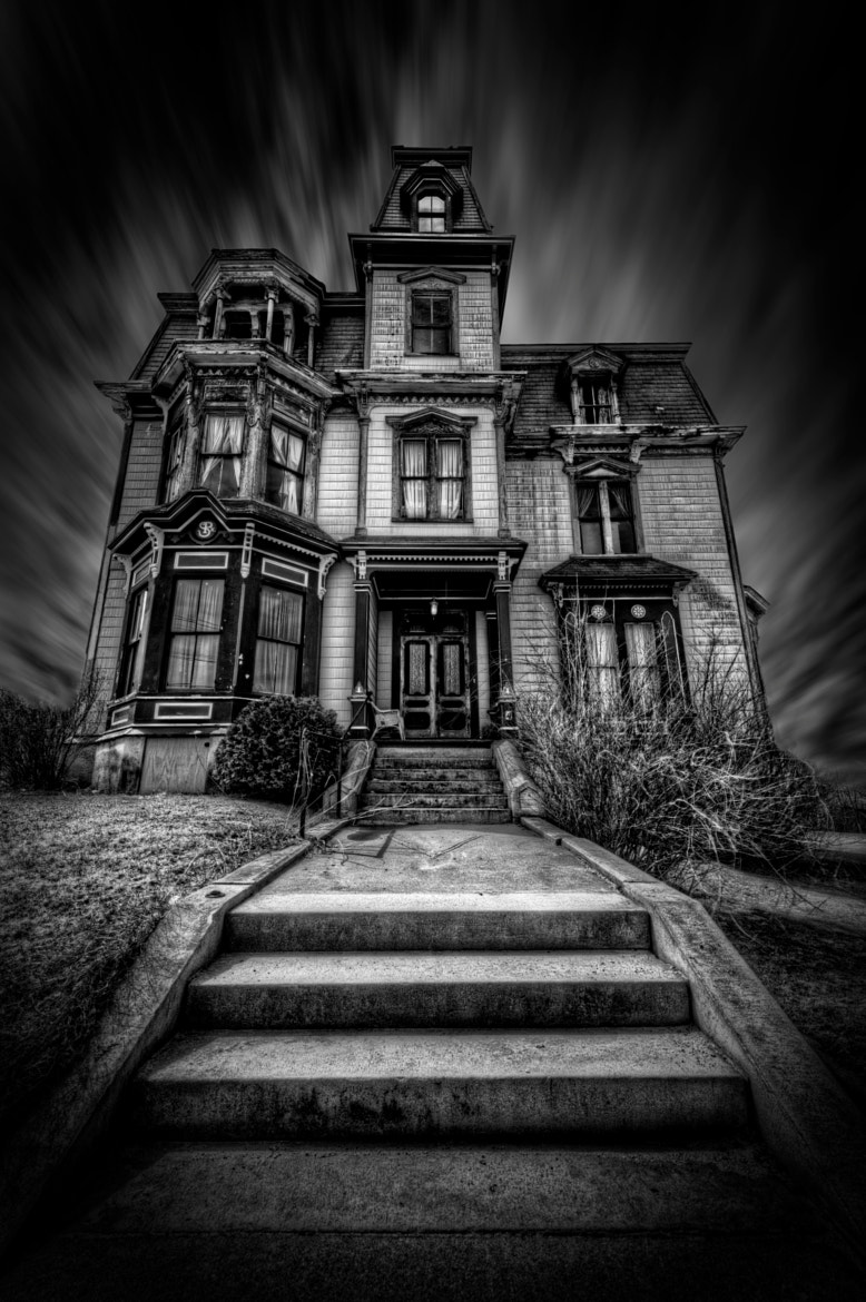 The Haunted Victorian Mansion by Frank Grace / 500px