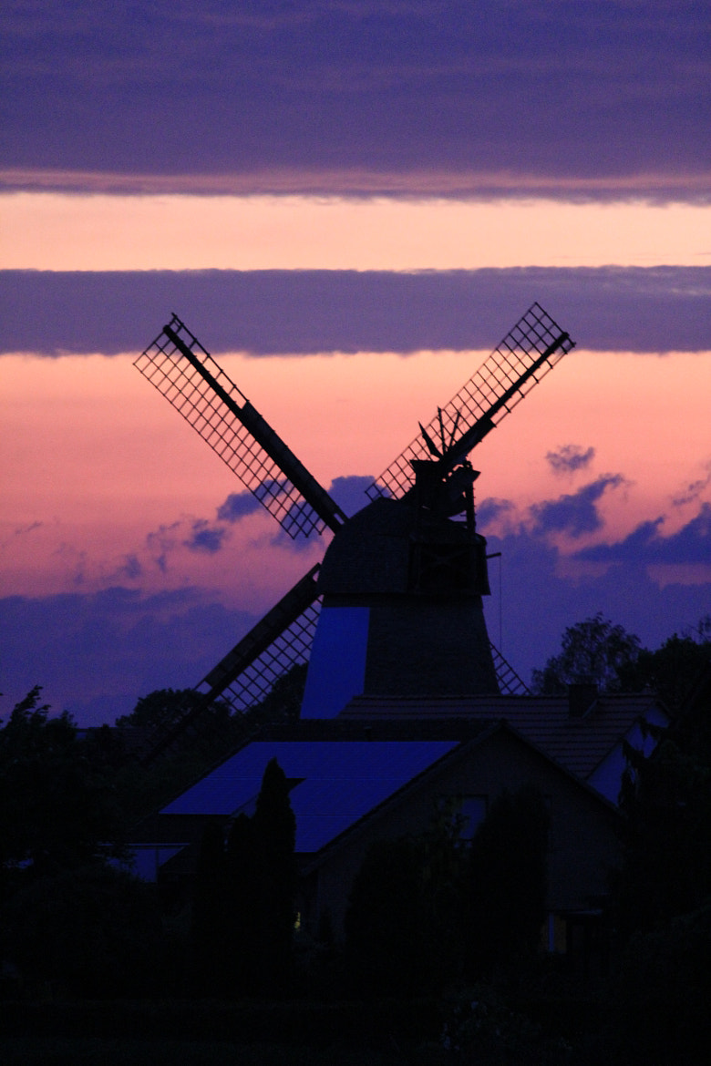 Photograph Windmill at Sundown by Andreas Pfeiffer on 500px