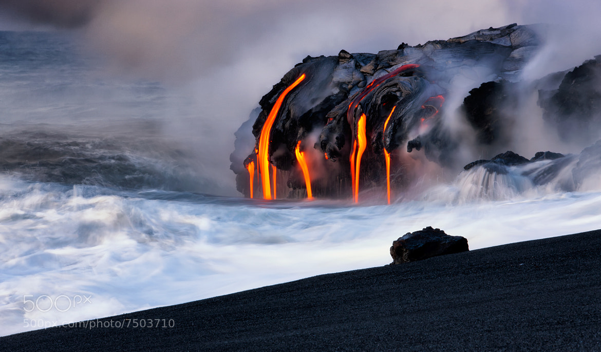 Photograph The Birth of a Beach by Bruce Omori on 500px