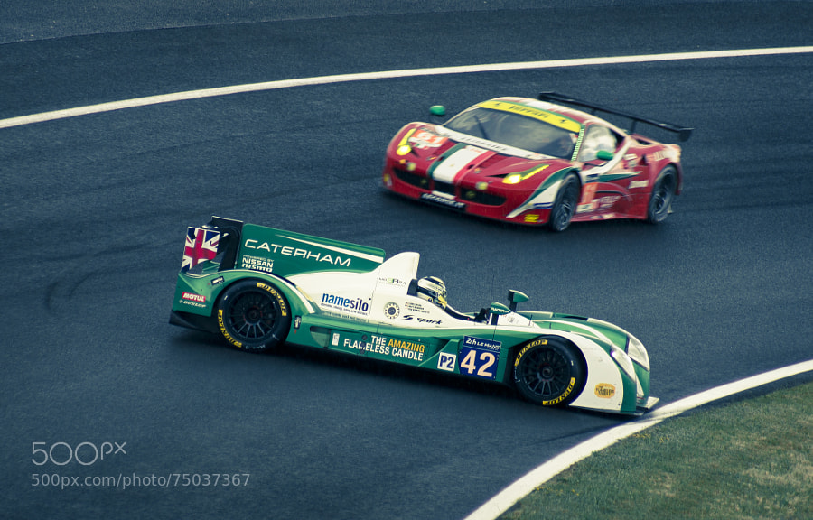 Photograph 24H00 du Mans - Caterham Racing (Zytek-Nissan) by Cyril Fontaine on 500px