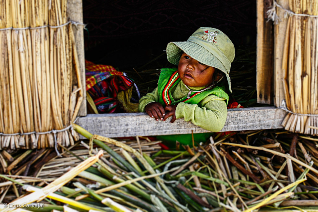 Photograph Titicaca Girl by CHUS CARVAJAL on 500px