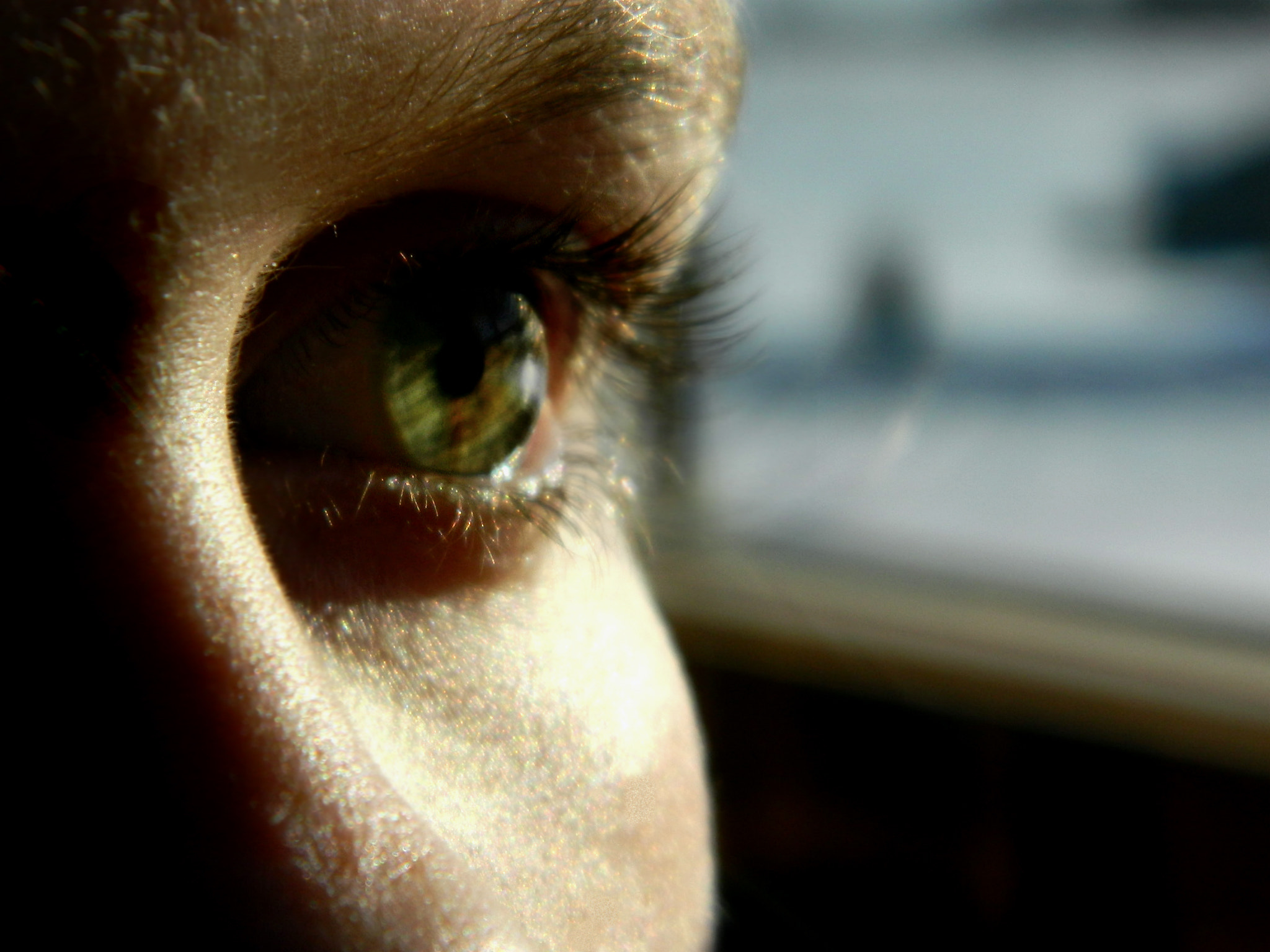 Photograph My Sister's Eye by Mariah Deschler on 500px