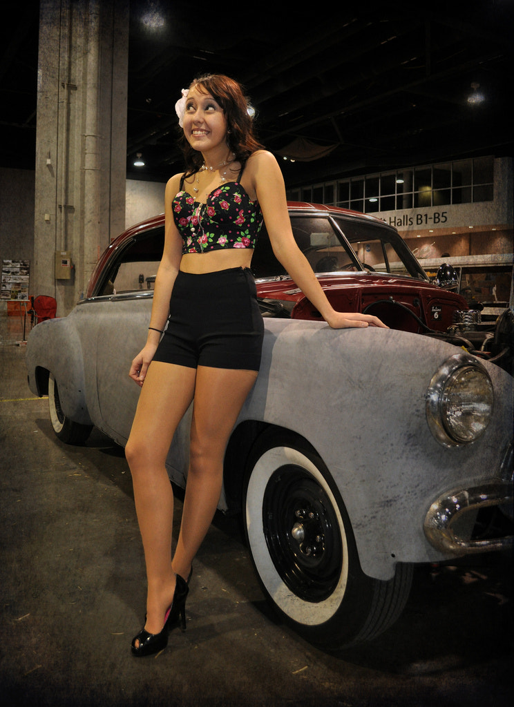 Photograph Hot Rod Renee by Greg Foster on 500px