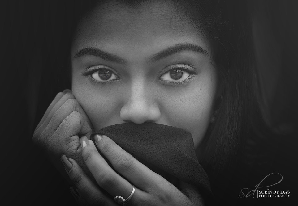 """Photograph """"you call her dark! let that be, her black gazelle eyes I have seen."""" by Subinoy Das on 500px"""
