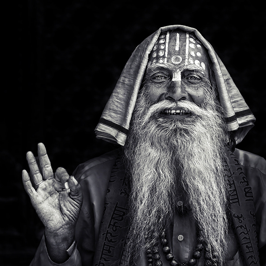 Photograph the holy man by piet flour on 500px