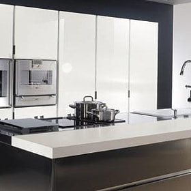 Italian Stainless Steel Kitchen Cupboards Cabinet Design Modern Steel Kitchen 550300