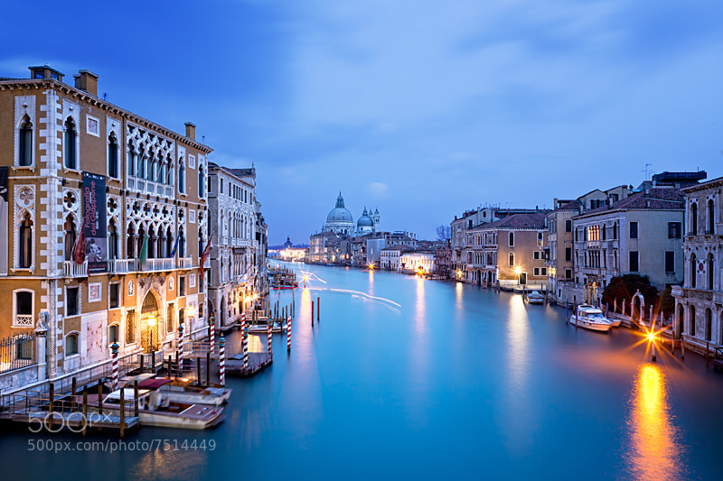 Photograph Twilight L´Accademia Brigde (Venice) by Sonia Blanco on 500px