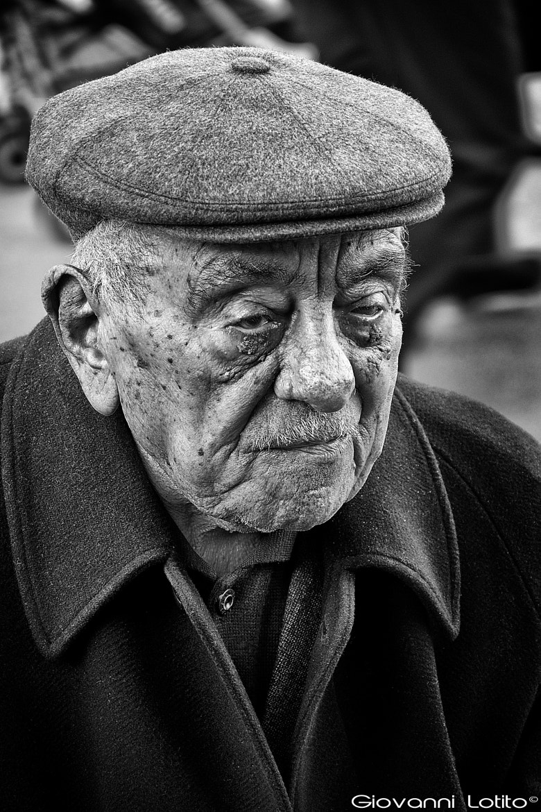 Photograph Old man by Giovanni Lotito on 500px