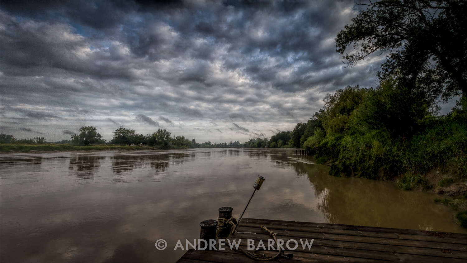 Photograph Storm Clouds over the Dordogne by Andrew Barrow ARPS on 500px