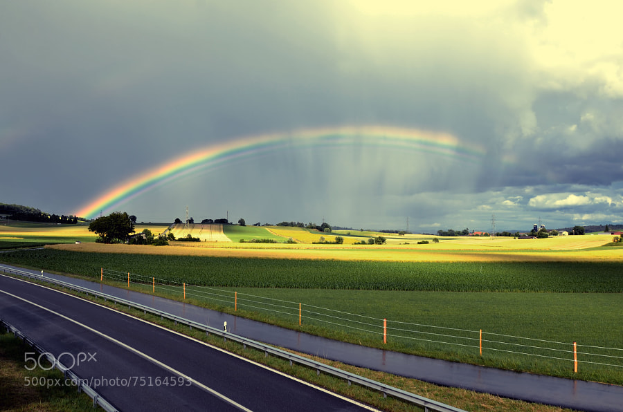Rainbow ♥ by kat-photography