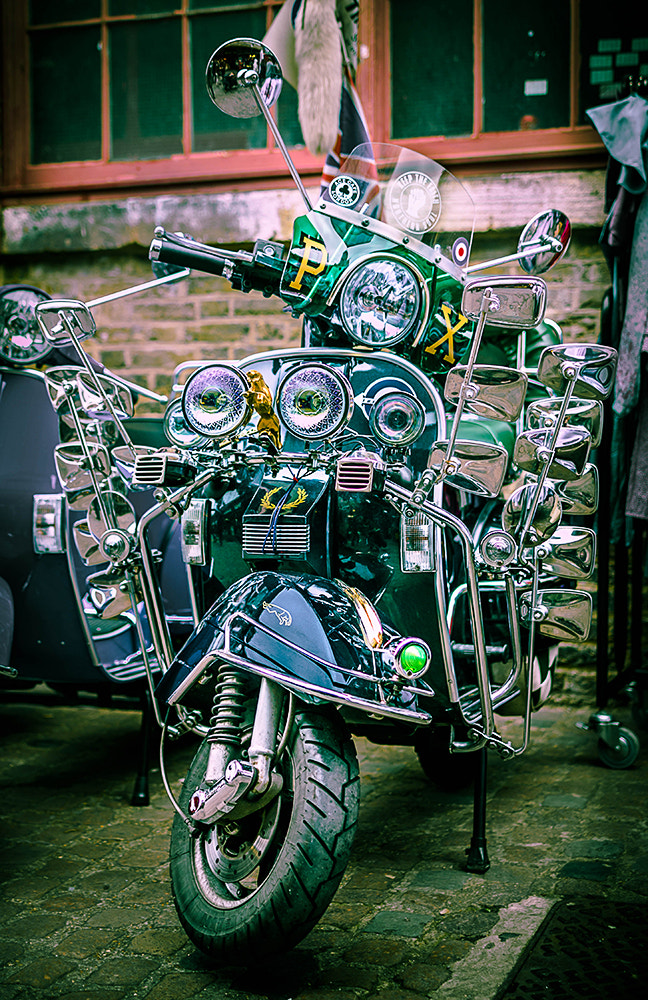 Photograph Mod Scooter by Andy Butler on 500px