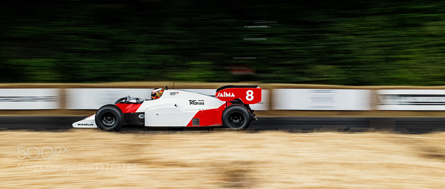 Photograph GoodWood Festival of Speed - Classic Mclaren by Mike Griggs on 500px