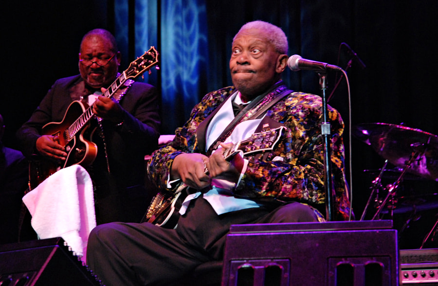 "Photograph BB King and ""Lucille"" by Ken Stewart on 500px"