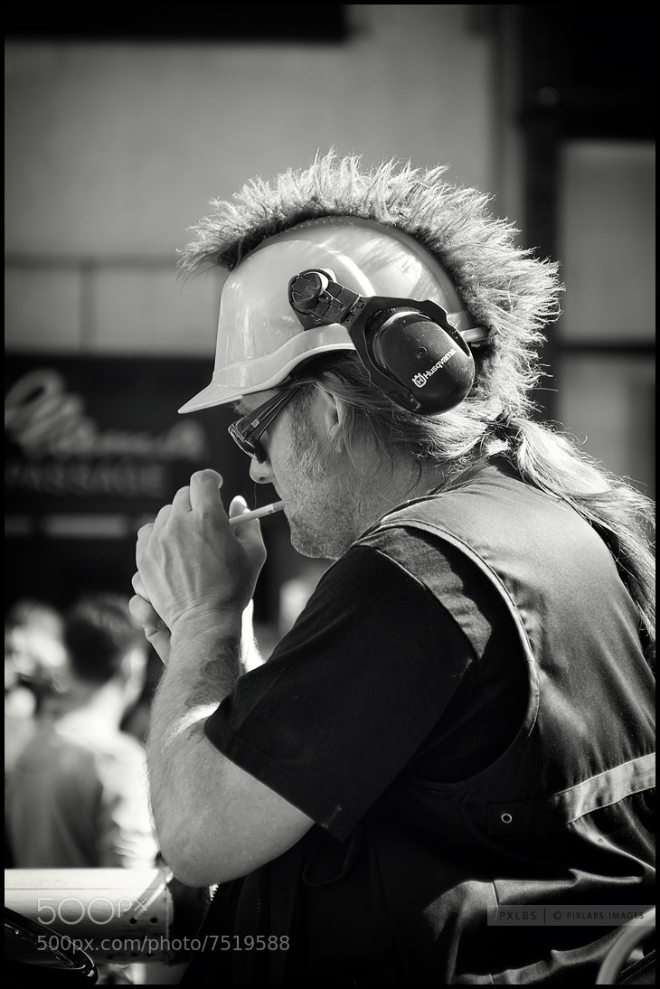 Photograph street parade - truck driver by pix labs on 500px
