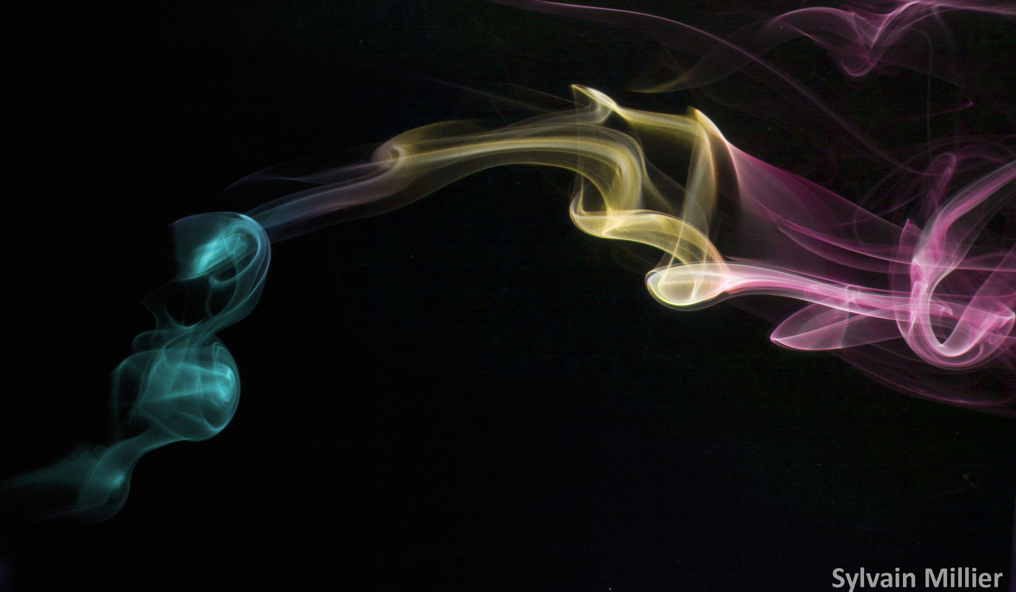 Photograph Smoke flame by Sylvain Millier on 500px