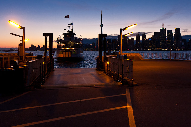 Photograph Ward's Island Ferry Arrives by Ted Kaiser on 500px