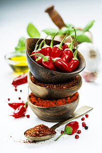 chili peppers with herbs and spices by Kimberly Potvin on 500px