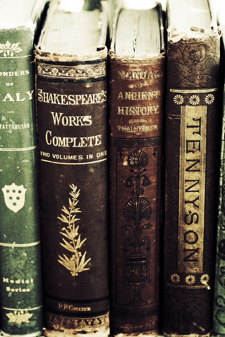 Photograph Old Books by Amanda Roberts on 500px