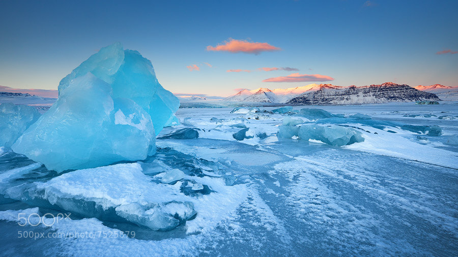 Photograph Fields of Ice by Erez Marom on 500px