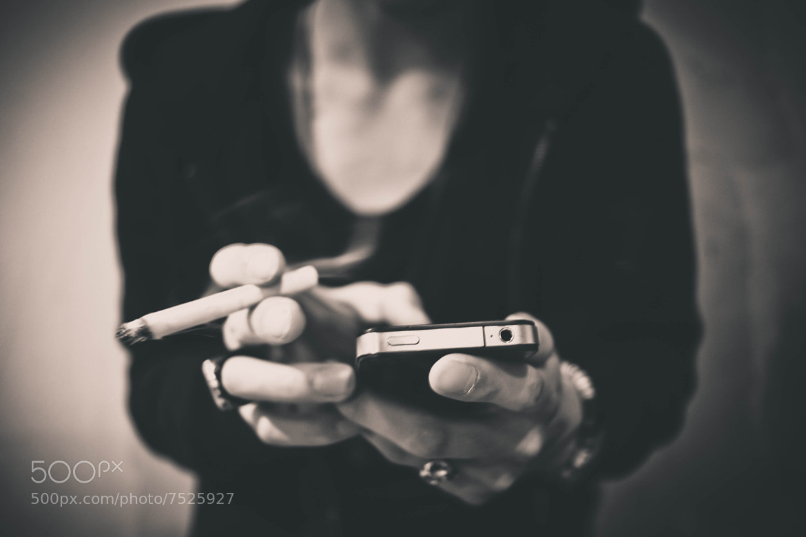 """Photograph """"Eye"""" Phone by Justin Carter on 500px"""