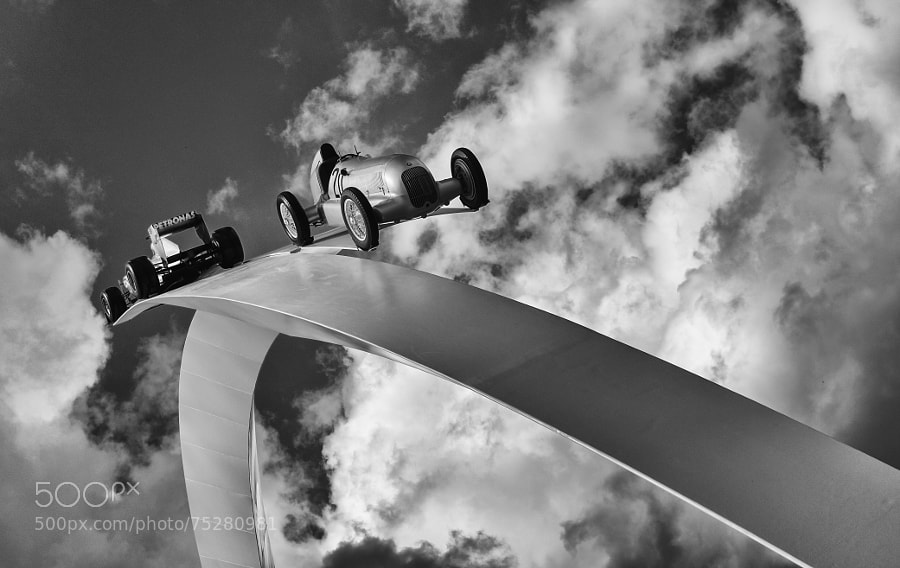 Photograph GoodWood Festival of Speed - Sculpture by Mike Griggs on 500px