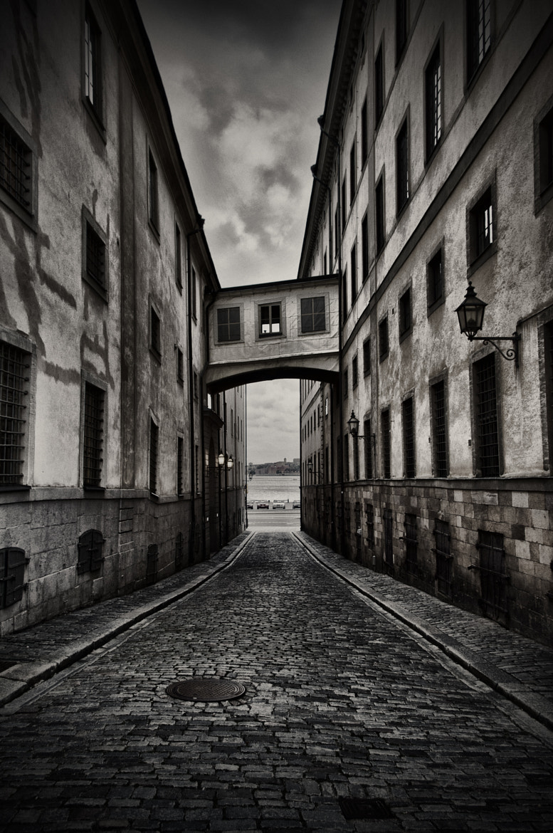 Photograph Dark Alley by Patrik Engman on 500px