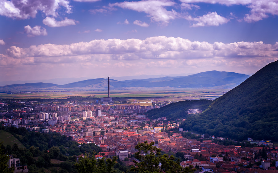 Brasov view from above by Sorin Markus on 500px.com