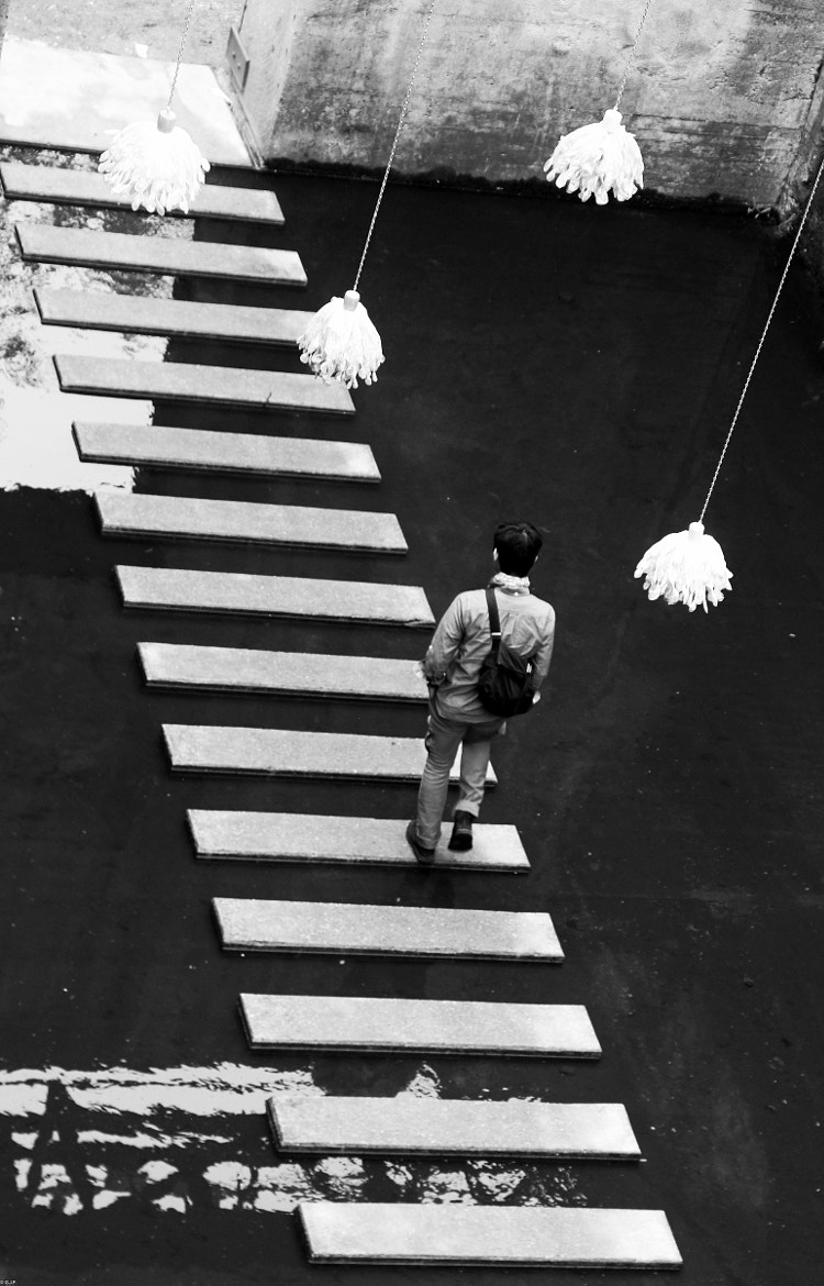 Photograph man and the art by Georgie Pauwels on 500px