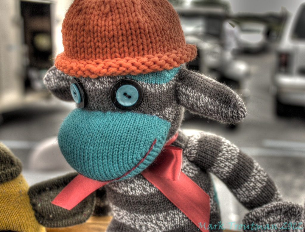 Photograph Sock Monkey by Mark T on 500px
