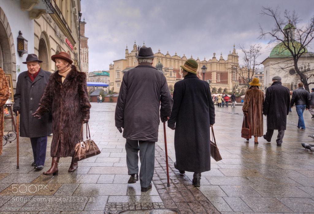 Photograph Christmas day walk - Krakow, Poland by Stacy Bamon on 500px