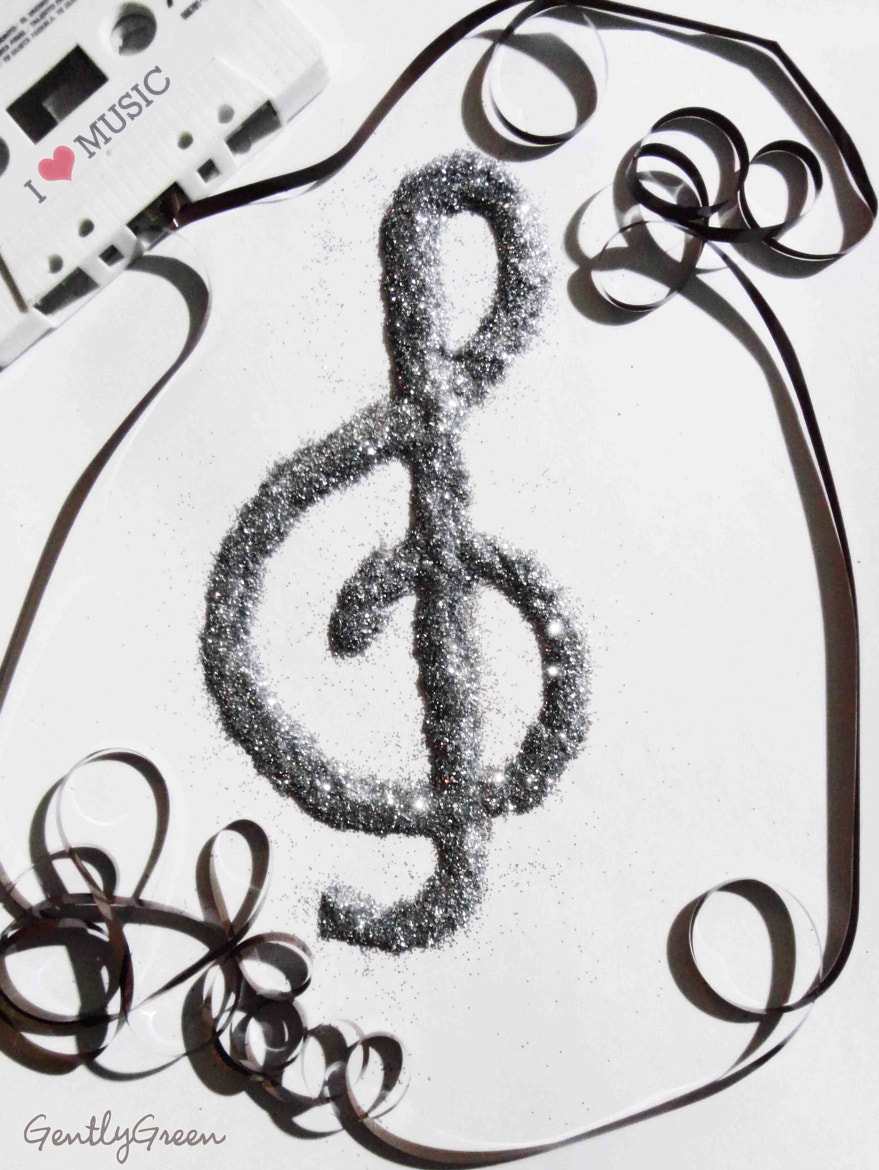 Photograph I love music by Gently green on 500px
