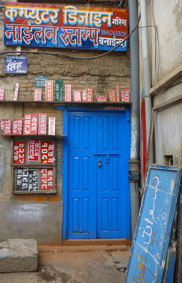 Photograph Kathmandu Alley Signs by Danielle Koffler on 500px