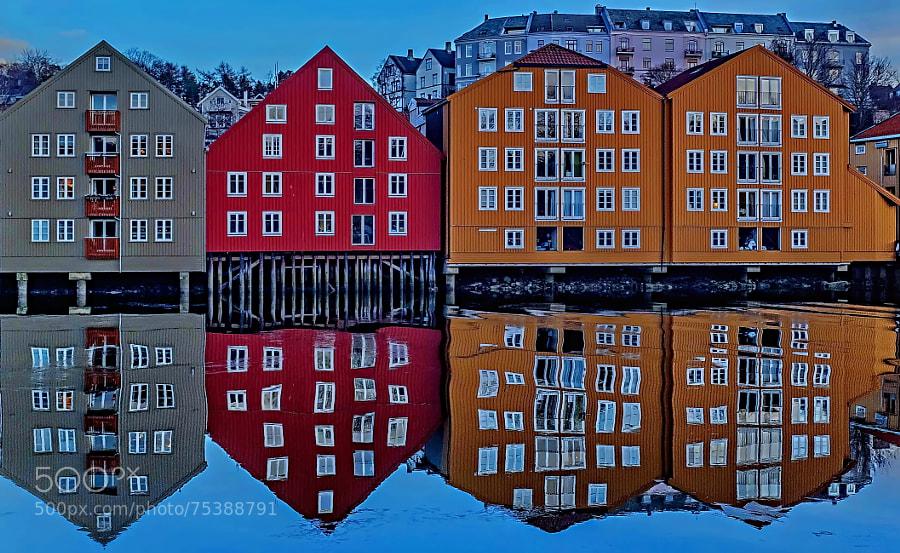 Photograph Trondheim Nidelva by Aziz Nasuti on 500px