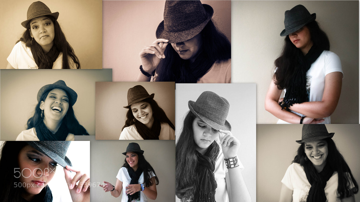Photograph Me and my hat by Aldo Crespo on 500px