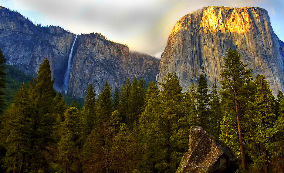 Photograph Below El Capitan Yosemite Valley by Greg McLemore on 500px